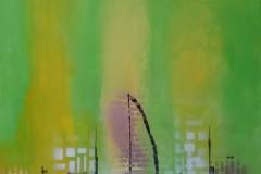 Acrylbild abstrakt Nr. 103