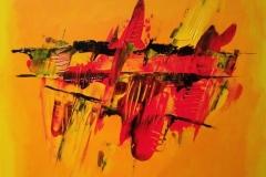 Acrylbild 50x50, Leinwand auf Keilrahmen, gemalt und gespachtelt, Primatechnik, feinste Künstlerfarbe, original handgefertigt ( 2020 ), Unikat