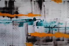 Acrylbild abstrakt Nr. 124