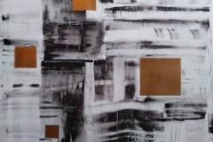 Acrylbild abstrakt Nr. 133