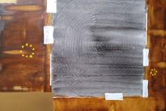 Acrylbild abstrakt Nr. 66