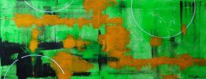 Acrylbild abstrakt Nr. 125