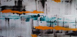 Acrylbild abstrakt Nr.124
