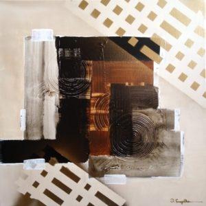 Acrylbild abstrakt Nr. 64